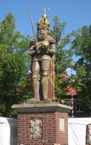 Der Roland in Wedel