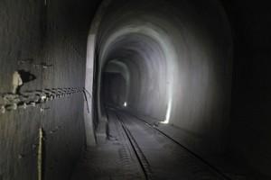 Tunnel, oberer Teil