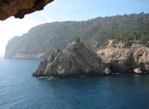 Klettern an der Steilküste