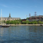 Djurgården: Vasa Museum (re.), Nordisches Museum (li.)