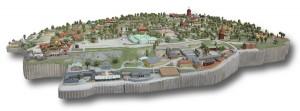 3D Map von Skansen
