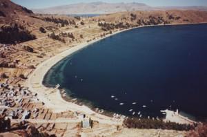 Hafen am Titicaca See