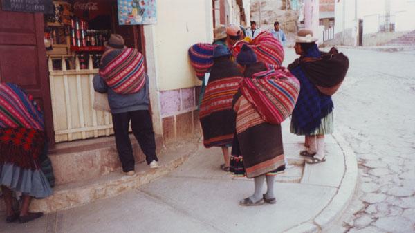 Typisch Bolivianisch