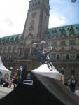 BMX Event auf dem Rathausmarkt