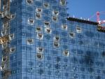 Elbphilharmonie: Detailaufnahme der Fensterfront