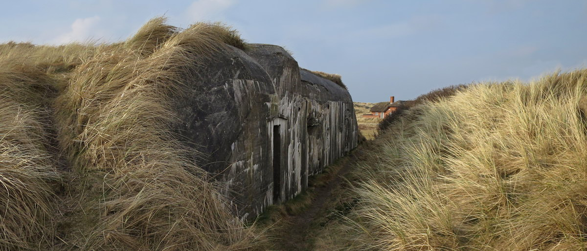 Bunker auf Holmsland Klit