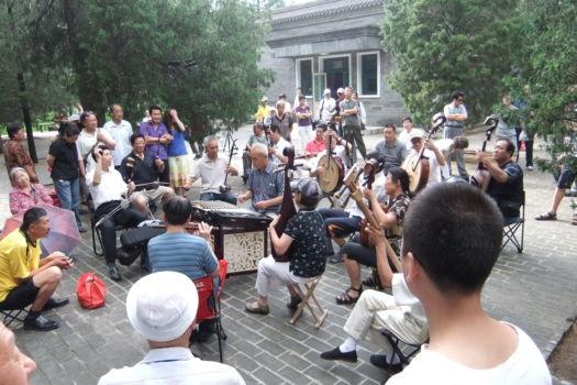 Livemusik im Park