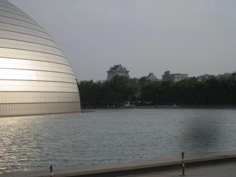 Die Oper - ein Ufo in der Innenstadt
