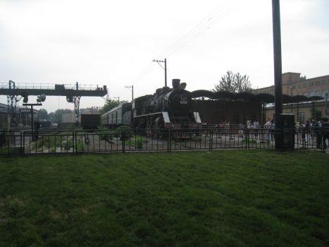 alte Dampflock in der Area 798