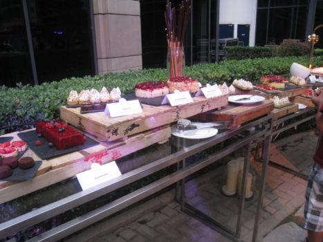 Sommerfest im Kempinski - Buffet