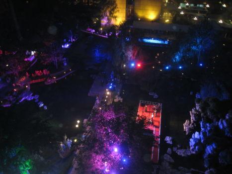 Sommerfest im Kempinski - Innenhof
