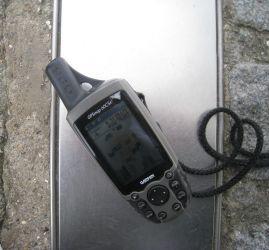 GPS auf dem Null Meridian