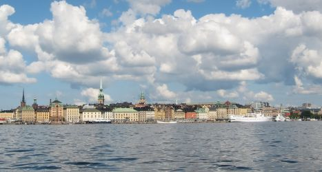 Stockholms Altstadtpanorama