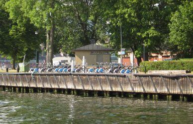 Botsfahrt: Leihfahrräder