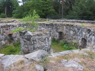 Haga Park: Haga Schloss Ruinen