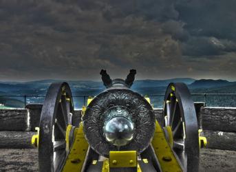 Kanone - Festung Königstein