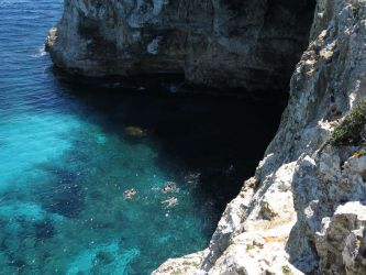 Expedition zur Cova des Coloms - Höhleneingang