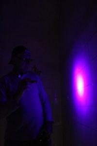 Lichteffekt - UV Taschenlampe