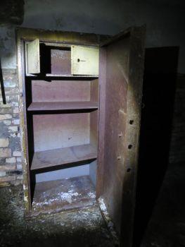 Tresor im Bunker